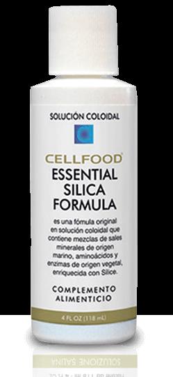 Cellfood sílica producto